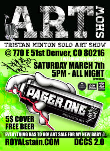 ART show MAr 7th 2